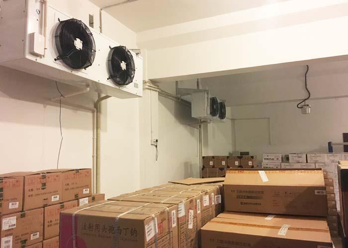 冷库价格:流水线上各工位设备台数可依设备生产能力和生产节拍确定的图片436
