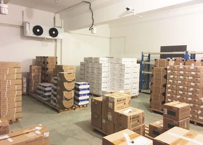 冷库价格:流水线上各工位设备台数可依设备生产能力和生产节拍确定的图片437